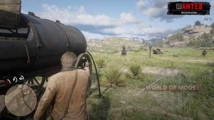 Misión de tanque en RDR 2