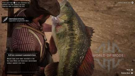 Largemouth bass en RDR 2