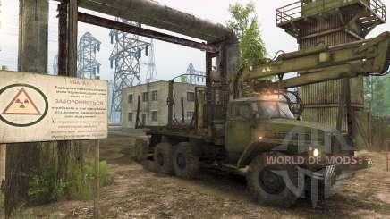 Spintires: misiones sobre Chernobyl y robo forestal
