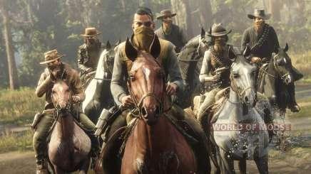 Modos multijugador en Red Dead Online