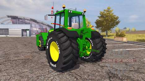 John Deere 6930 trike v2.0 para Farming Simulator 2013