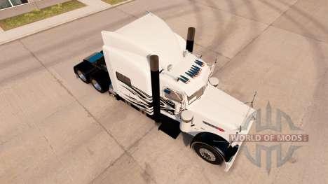 Simple Llamas de la piel para el camión Peterbil para American Truck Simulator