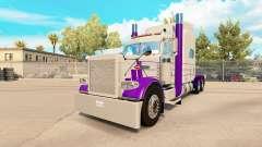 La piel de color Púrpura Y Gris para el camión P