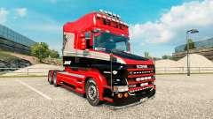Stiholt de la piel para camión Scania de la seri