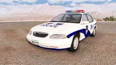 Ibishu Pessima Chinese Police para BeamNG Drive