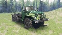 El color es el Verano de camuflaje para Ural 432