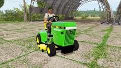 John Deere 318 mower