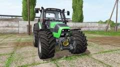 Deutz-Fahr Agrotron 620 TTV v3.3 para Farming Simulator 2017