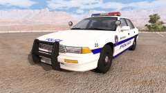 Gavril Grand Marshall mayfield police v2.0 para BeamNG Drive