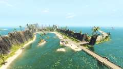 Island of speed v1.4 para BeamNG Drive