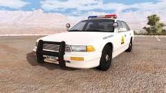 Gavril Grand Marshall utah highway patrol para BeamNG Drive