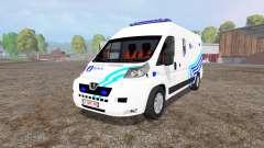 Peugeot Boxer Police v1.1
