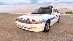 Gavril Grand Marshall police municipale para BeamNG Drive