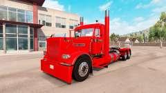 Aldeano de piel roja para el camión Peterbilt 38