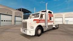 La piel Trans-Scotti en el tractor Kenworth T800