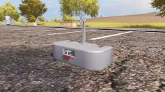 Weight CLAAS para Farming Simulator 2013