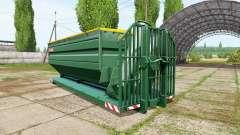 METALTECH field container para Farming Simulator 2017