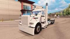 Aldeano piel blanca para el camión Peterbilt 389