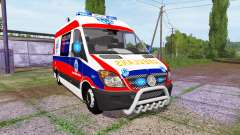Mercedes-Benz Sprinter 311 CDI Ambulance para Farming Simulator 2017