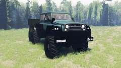 UAZ Juego 6x6