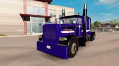 Purple Rain de la piel para el camión Peterbilt