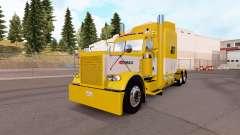 La piel de color Amarillo y Blanco para el camió