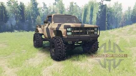 Chevrolet K5 Blazer M1008 para Spin Tires
