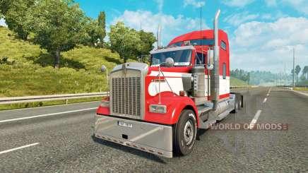 Kenworth W900 v1.2 para Euro Truck Simulator 2