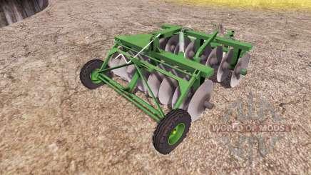 Disc harrow v2.0 para Farming Simulator 2013