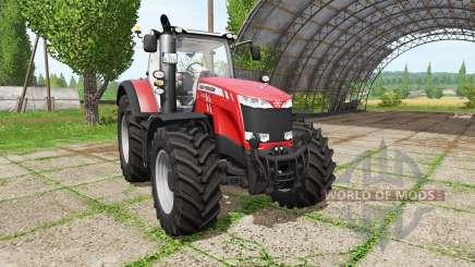 Massey Ferguson 8730 v3.5 para Farming Simulator 2017