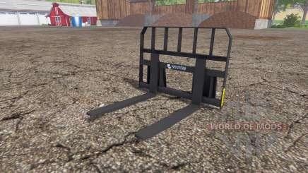 Whites pallet fork para Farming Simulator 2015