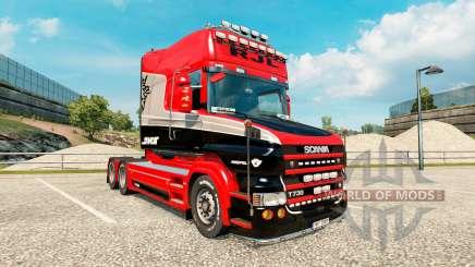 Stiholt de la piel para camión Scania de la serie T de para Euro Truck Simulator 2