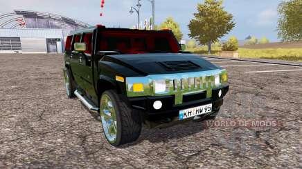 Hummer H2 v1.2 para Farming Simulator 2013