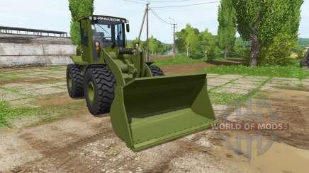 John Deere 524K army para Farming Simulator 2017