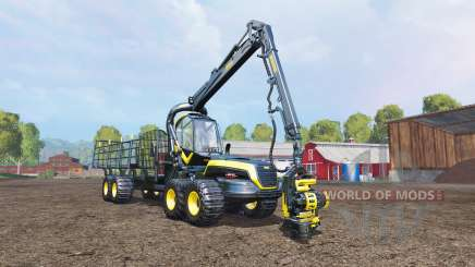 PONSSE Scorpion cutting and loading v1.1 para Farming Simulator 2015