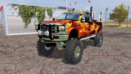 Ford F-350 monster para Farming Simulator 2013