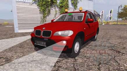 BMW X5 4.8i (E70) v1.1 para Farming Simulator 2013