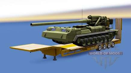 Military cargo pack v1.7.1 para Euro Truck Simulator 2