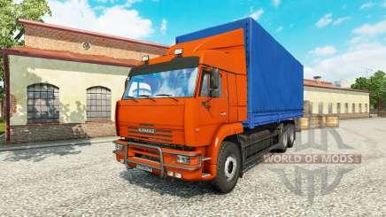 KamAZ 65117 v1.1 para Euro Truck Simulator 2