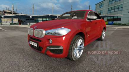 BMW X6 M50d (F16) v3.0 para Euro Truck Simulator 2