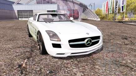 Mercedes-Benz SLS 63 AMG (C197) para Farming Simulator 2013