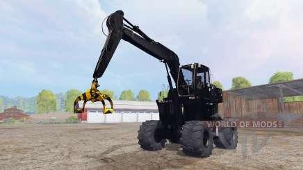 Liebherr A900C logging v4.0 para Farming Simulator 2015