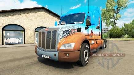 Peterbilt 579 v1.3 para Euro Truck Simulator 2
