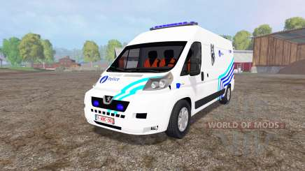 Peugeot Boxer Police v1.1 para Farming Simulator 2015