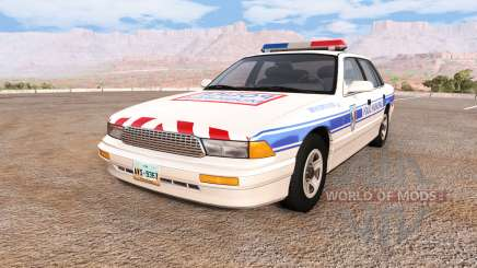 Gavril Grand Marshall police municipale para BeamNG Drive