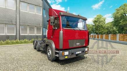 MAZ 6422М v1.1 para Euro Truck Simulator 2