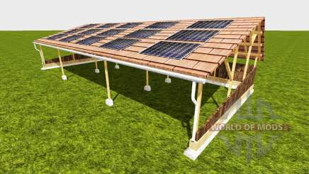 Shelter with solar para Farming Simulator 2015