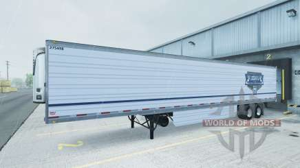 Skin Uncle D Logistics reefer trailer para American Truck Simulator