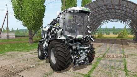 Krone BiG X 580 camo para Farming Simulator 2017
