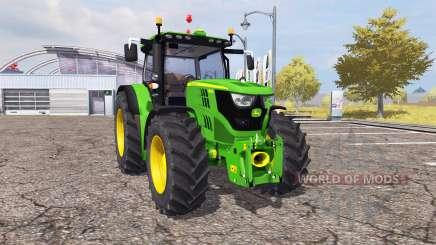 John Deere 6150R v2.0 para Farming Simulator 2013